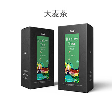 大麥茶 - Barley Tea 包裝設計