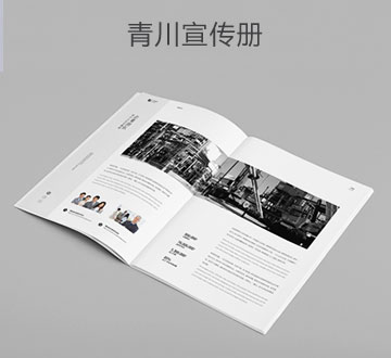 青川宣传手册设计