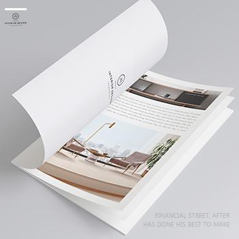 室内设计宣传手册